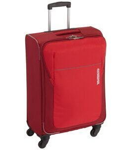 San Francisco Valise en Rouge 66.5 cm