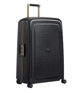S´Cure DLX Valise en Midnight Black/Gold Deluscious 75 cm