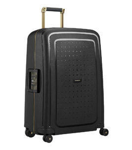 S´Cure DLX Valise en Black/Gold Delicious 69 cm