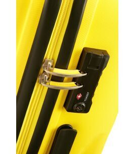 Bon Air Valise en Solar Yellow 66 cm
