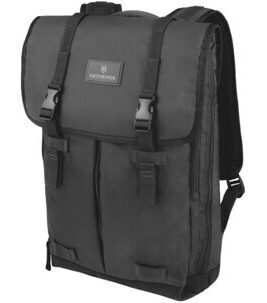 Altmont 3.0 - Flapover Laptop Backpack in Black