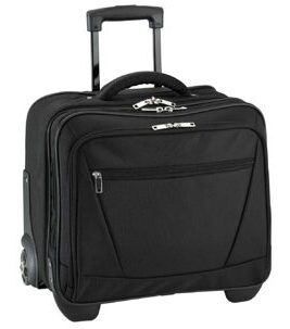 Business & Travel, valise de pilote en polyester, noir