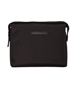 Koenji Wash Bag Large Kulturtasche in Black