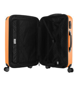 Spree, Valise rigide avec TSA surface mate, orange