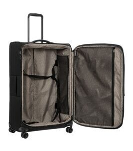 Itaca B2Y - Trolley Spinner extensible grand modèle en noir