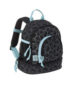 Lässig Kindergartenrucksack - Mini Backpack Spooky Black