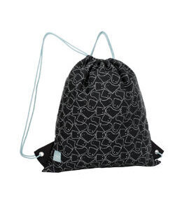 Lässig Turnbeutel - Mini String Bag Spooky Black