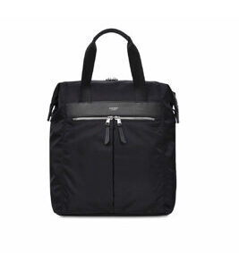 "Mayfair Mini Chiltern 13"" ToteBag/Sac à dos en noir/argent"
