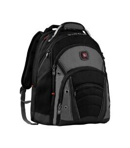Business Backpack - Synergy in Grau / Schwarz