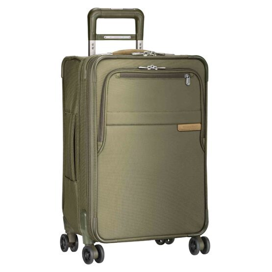 Baseline, Domestic Carry-On Expandable Spinner, vert olive